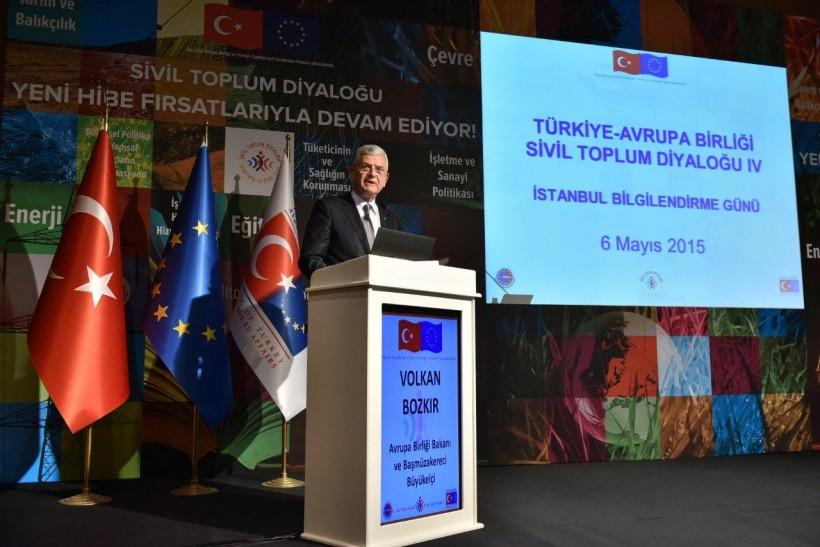 Sivil Toplum Diyaloğu Programı Dördüncü Dönemi Bilgilendirme Toplantısı İstanbul'da Düzenlendi