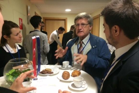 Brüksel'de Sivil Toplum Diyaloğu IV Bilgilendirme Toplantısı Düzenlendi
