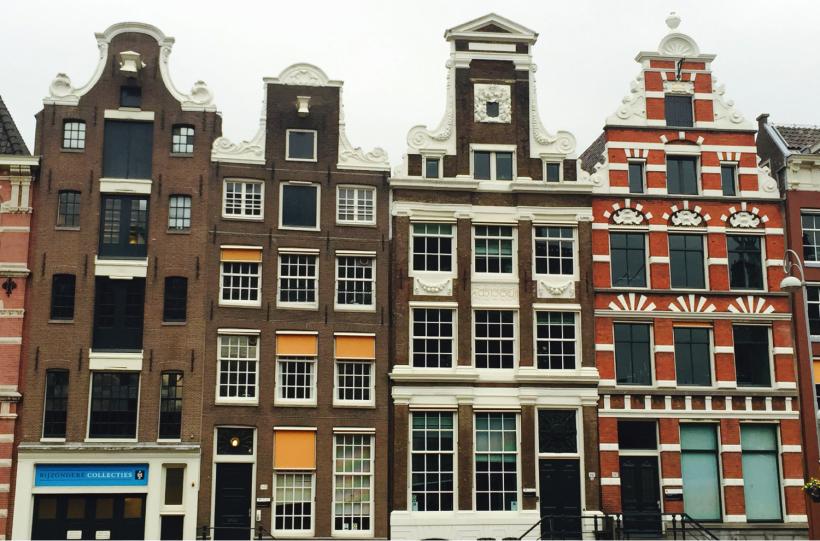 Avrupa'dan Hibe Faydalanıcıları Amsterdam'da