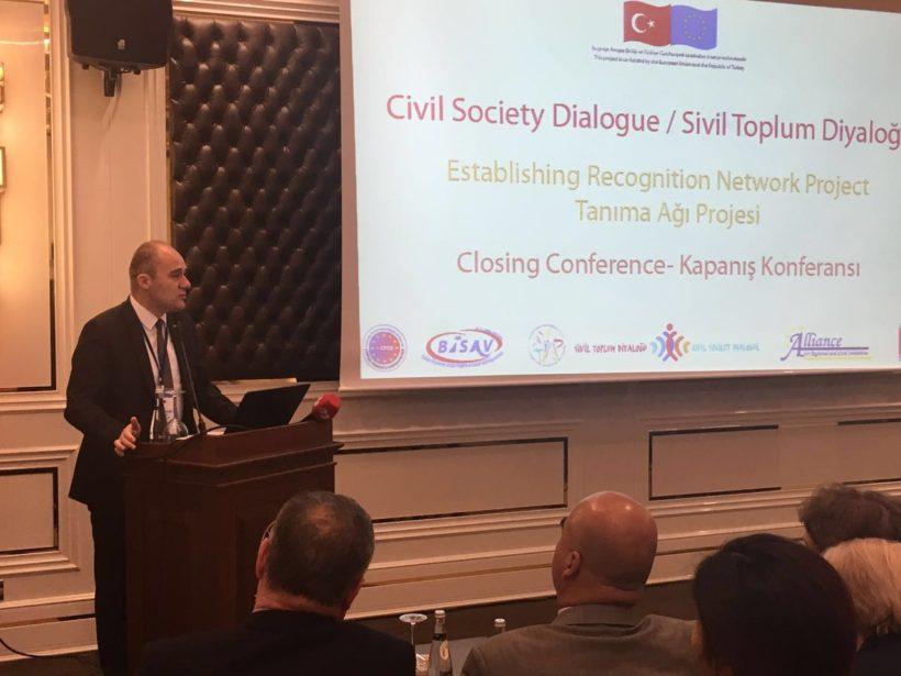 Tanıma Ağı Projesi Ankara'da Kapanış Konferansını Gerçekleştirdi.